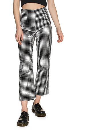 Afends Ryder Gingham High Waist s Trousers