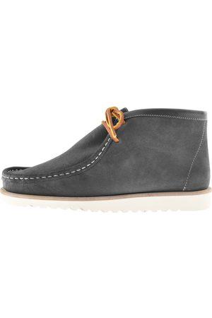 Pretty Green Men Boots - X Veras Suede Boot Grey