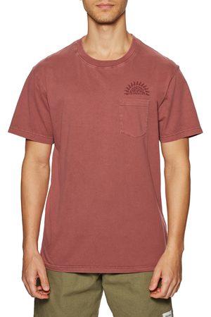 Rhythm Men Short Sleeve - La Jolla Pocket s Short Sleeve T-Shirt - Mineral