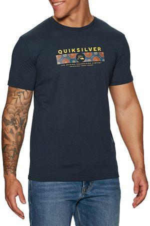 Quiksilver Wrap It Up s Short Sleeve T-Shirt - Navy Blazer