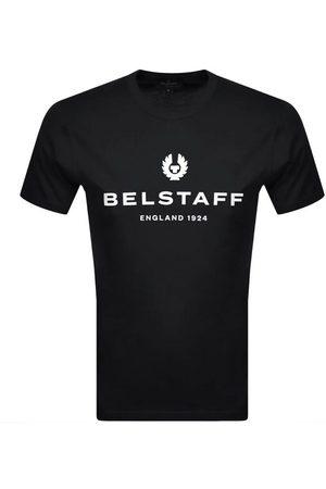 Belstaff 1924 2 Logo T Shirt Navy