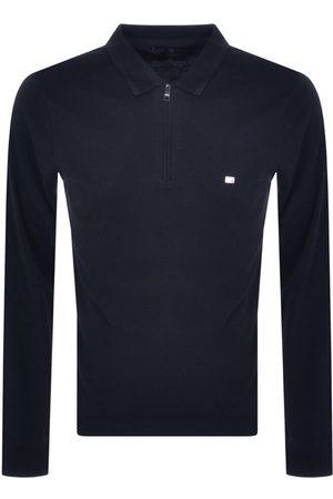 Tommy Hilfiger Interlock Polo T Shirt Navy