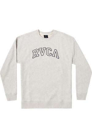 RVCA Men Long Sleeve - Men's Men's Hastings Long Sleeve Embroidered Logo Cotton T-Shirt