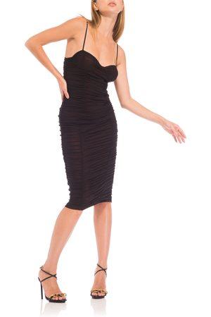 AFRM Women's Shereen Bustier Sleeveless Mesh Dress