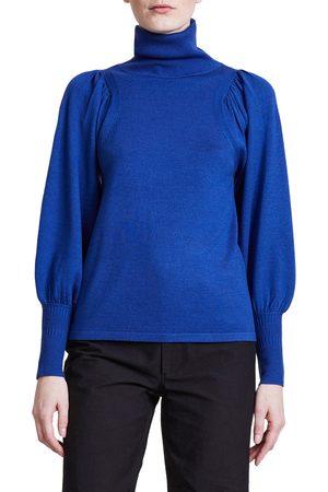 APIECE APART Women's Dewi Merino Wool Blend Turtleneck Sweater