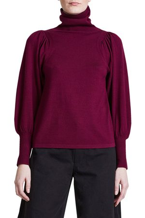 APIECE APART Women Turtlenecks - Women's Dewi Merino Wool Blend Turtleneck Sweater