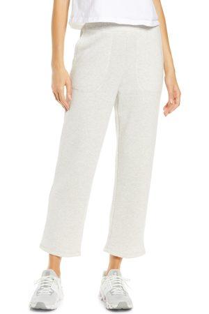 Madewell Women's Mwl Airyterry Stitch Pocket Tapered Sweatpants