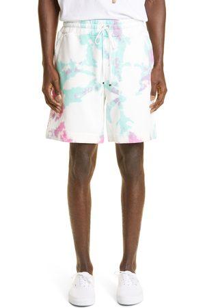 AMIRI Men's Core Logo Tie Dye Cotton Sweat Shorts