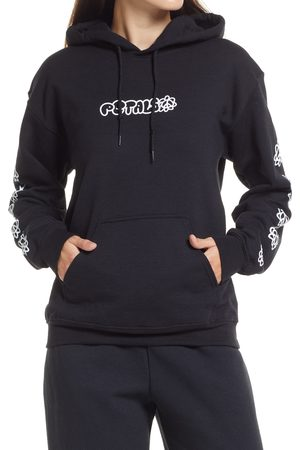 Petals and Peacocks Women's Peace & Petals Graphic Hoodie