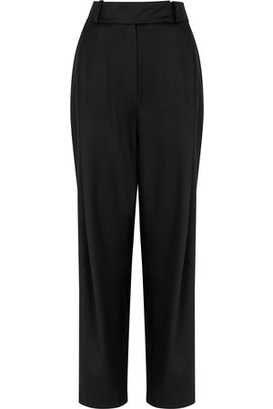 Totême Tapered stretch-wool trousers