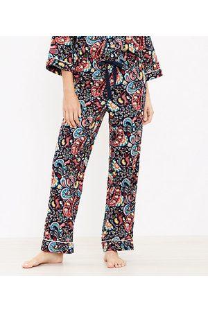 Loft Paisley Pajama Pants