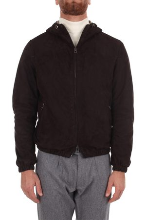 LUIGI BORRELLI NAPOLI Leather Jackets Men Pelle