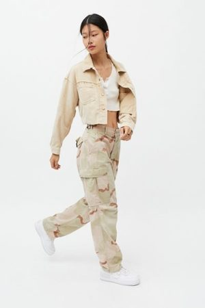 Urban Women Pants - Vintage Camo Pant
