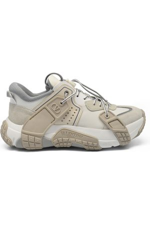 VALENTINO GARAVANI Men's luxury sneakers - Valentino sneakers model Wod white and beige