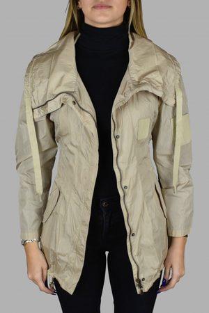 Prada Women's luxury coat - beige nylon coat