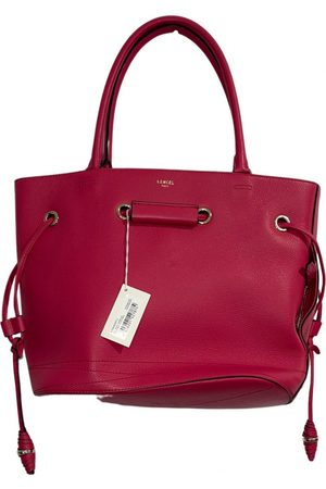 Lancel Huit leather handbag
