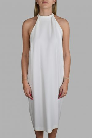 Balenciaga Luxury dress for women - White open back dress