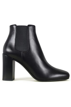 Saint Laurent Women luxury shoes - Chelsea Babies 90 black boots