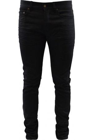 Saint Laurent Men Straight - Men's designer jeans - black Straight jean