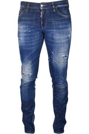 Dsquared2 Men's Luxury jeans - Slim Jean with orange details