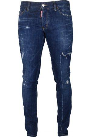 Dsquared2 Men's luxury jean - Slim Jean blue with patch logo