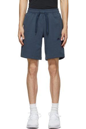 Nike Navy Sportswear Club Classic Shorts