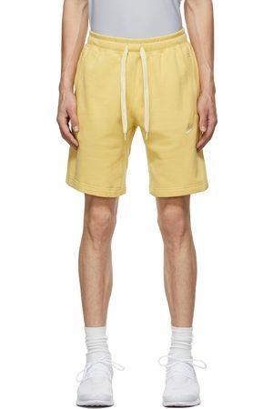 Nike Yellow Sportswear Club Classic Shorts