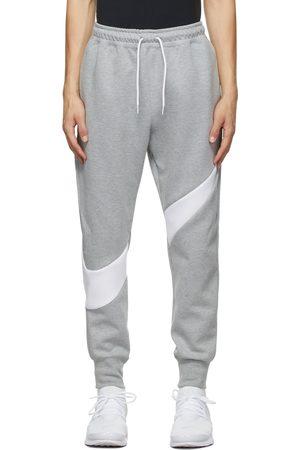 Nike Grey Sportswear Swoosh Tech Lounge Pants