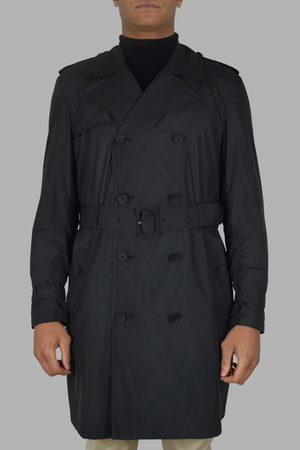 VALENTINO GARAVANI Mens's luxury coat - Valentino black trench coat