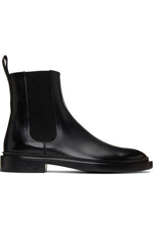 Jil Sander Black Chelsea Boots