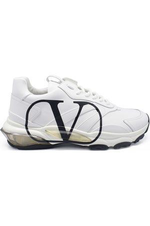 Valentino Garavani Men's luxury sneakers - Valentino Bounce model sneakers in white leather