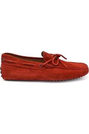 Tod's Luxury shoes for men - Tod's loafers in red suede
