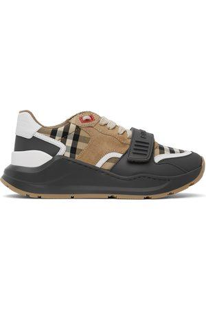 Burberry Tan & Grey Ramsey Sneaker