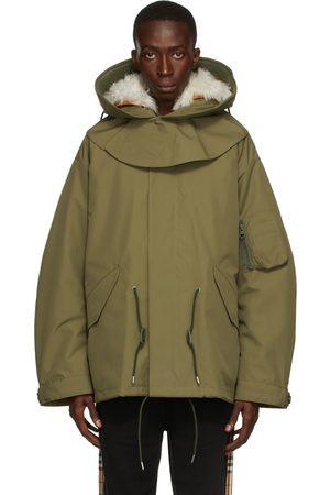Burberry Khaki 2-in-1 Merriott Jacket