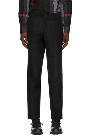 Burberry Wool Cropped Tailored Trousers