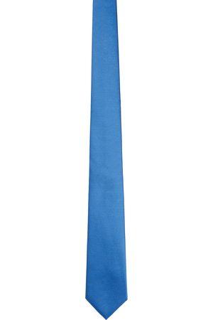 Burberry Blue Silk Classic Cut Tie