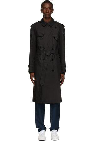 Burberry Men Trench Coats - Patchwork Westminster Trench Coat