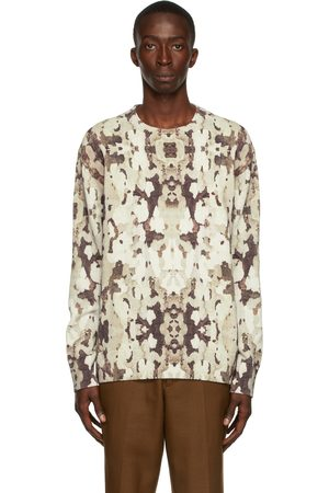 Burberry Multicolor Cotton Camouflage Sweater