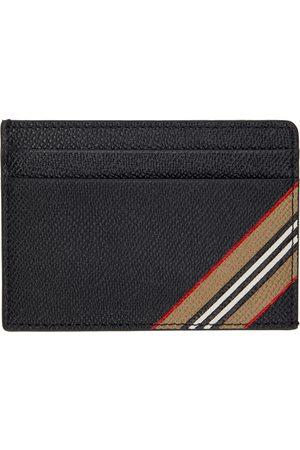Burberry Stripe Kier Card Holder