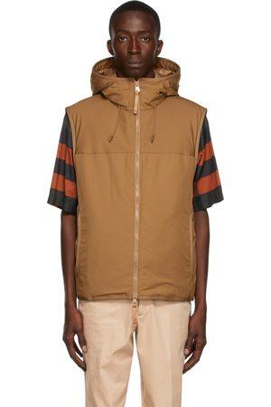 Burberry Khaki Beswick Hooded Vest