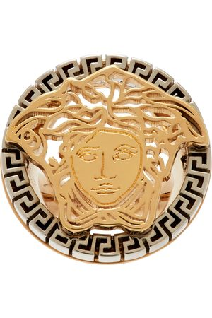 VERSACE Gold Medusa Touch Ring