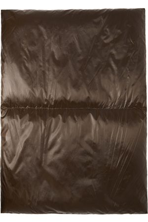 UNDERCOVER Men Scarves - Brown & Beige Down Puffer Scarf