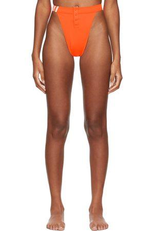 adidas x IVY PARK Women Bikinis - Orange Bikini Bottoms