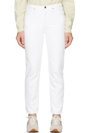 Museum Of Peace & Quiet White FRAME Edition Straight-Leg Jeans