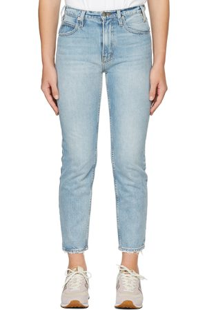 Museum Of Peace & Quiet Women Tapered - Blue FRAME Edition Tapered Jeans