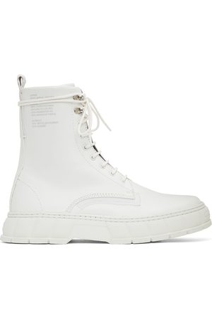 VIRON White Apple Leather 1992 Boots
