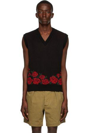 Ernest W. Baker & Red Roses V-Neck Vest