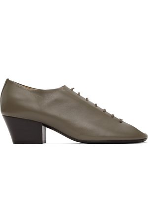 Lemaire Women Formal Shoes - Taupe Heeled Derbys