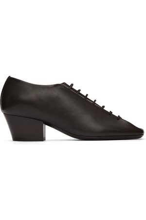 LEMAIRE Women Formal Shoes - Brown Heeled Derbys