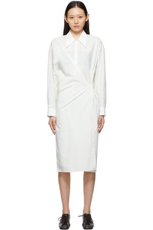 LEMAIRE White Twisted Dress